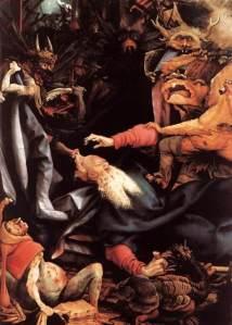 Grunewald tentatia Sfantului Anton